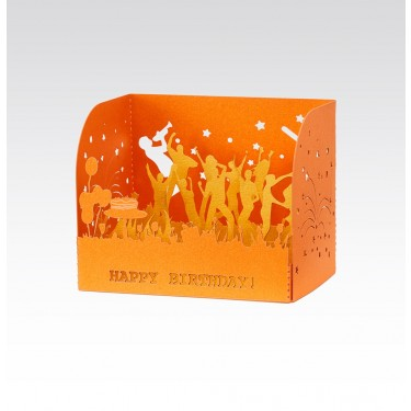 Card 3D - Happy Birthday